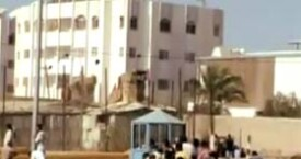 Different Camera Angle – Reuters footage of the Al Durahs from behind them by the barrel
