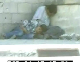 Segment 4 of 7: Boy is Down in His Father's Lap, Fetal Position
